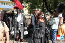 Markt nürnberg venezianischer Ensemble beim
