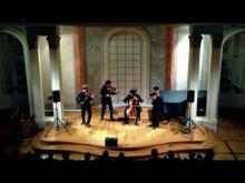 vision string quartet - mendelssohn quartet op. 80 no 6 f minor, 1st mov. live