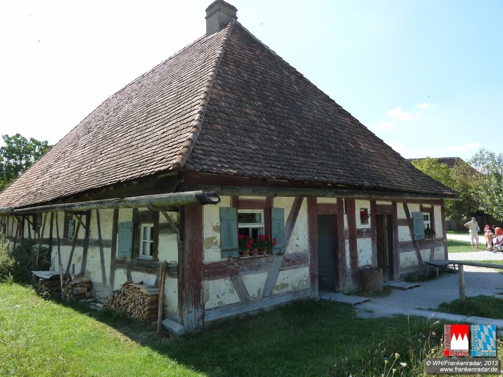 ausflugsziel fr nkisches freilandmuseum bad windsheim bad windsheim bayernradar. Black Bedroom Furniture Sets. Home Design Ideas